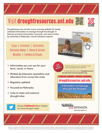 Drought Resources flyer