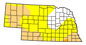 Nebraska drought in June 2012
