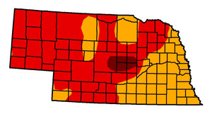 Nebraska drought July 2012