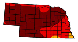 Nebraska drought September 4, 2012